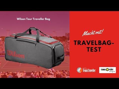 TennisTraveller Travelbag-Test Wilson