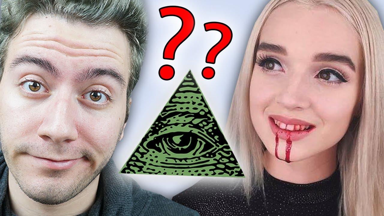 Poppy Illuminati Ifşa şeytan Kız Youtube