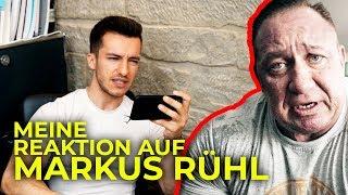 Meine Reaktion auf: Markus Rühl Neue Ideen für massive Schultern | Trainingsanalyse | Tim Gabel