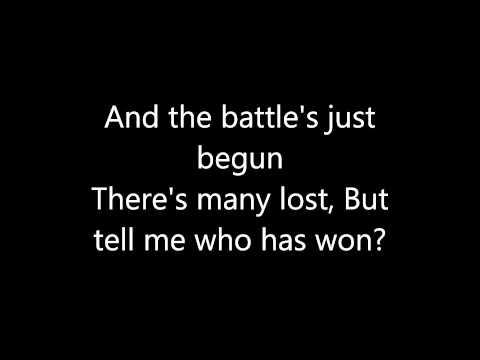 Paramore - Sunday Bloody Sunday lyrics