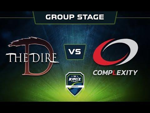 Dire vs coL Game 1 - King's Cup: America Group Stage - @DakotaCox @GranDGranT @KBBQ @Lacoste