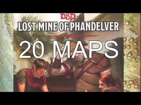 20 Maps For Lost Mine Of Phandelver D D 5e Tabletop Simulator Youtube