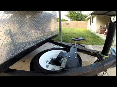 Teardrop Trailer Spare Tire Youtube