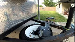 teardrop trailer spare tire