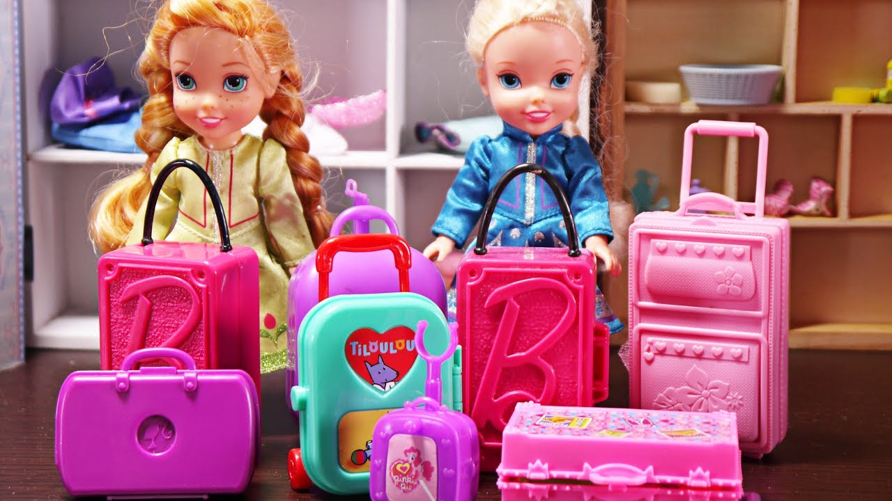 Elsa Anna Toddlers Holidays Pack Their