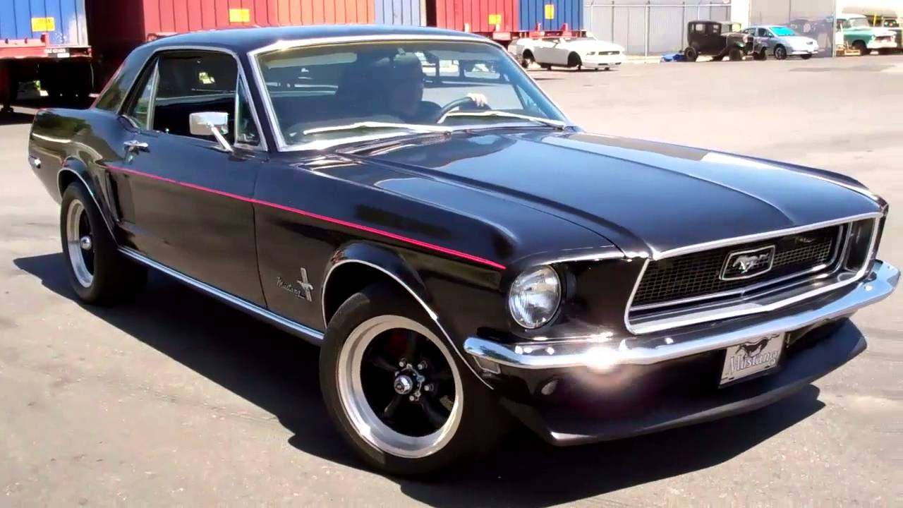 1968 Mustang Coupe Youtube