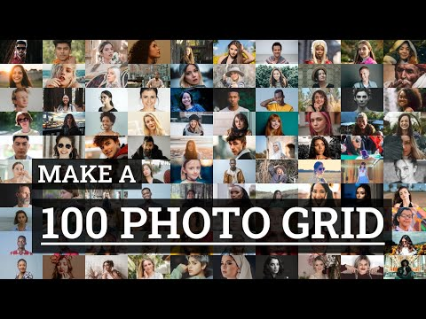 Make A 100 Photo Grid In 60 Seconds | TurboCollage
