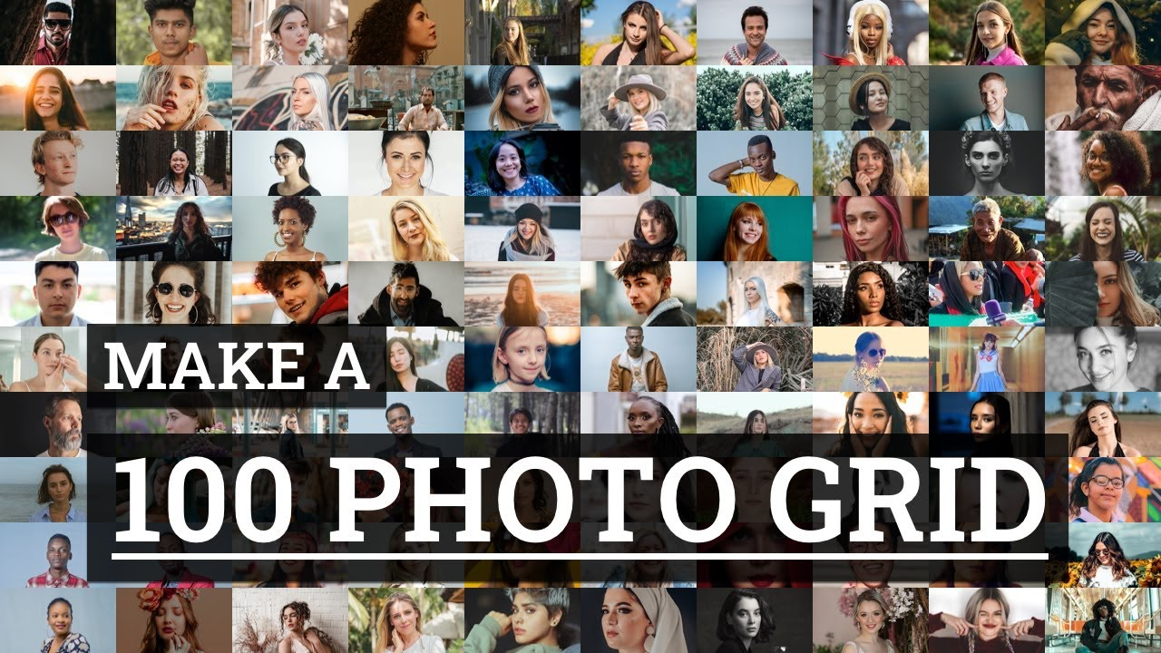 Make a 100 Photo Collage in 60 Seconds | TurboCollage