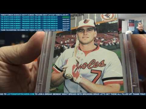 The Sports Card Almanac – Treasure Chest Volume I – 3 Box Case Break #1 – RANDOM CATEGORIES & COMBOS