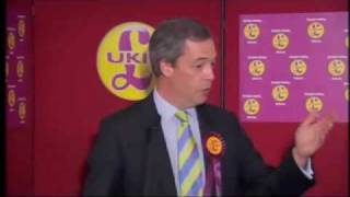 UKIP General Election 2010 Launch - Lord Pearson and Nigel Farage