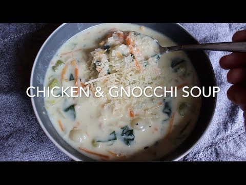Chicken Gnocchi Soup Olive Garden Copycat Recipe Youtube
