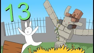 "Minecraft for noobs (Cartoon) part 13 ""Village and Pillage"""