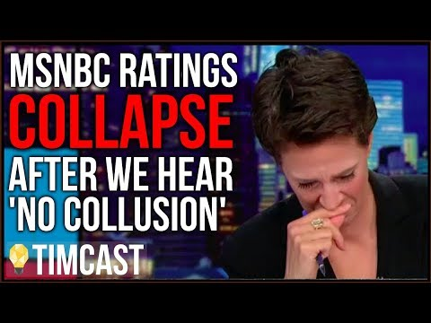 """CNN And MSNBC Ratings COLLAPSE After """"No Collusion"""" Report"""