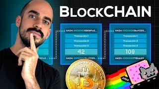 ¿Qué es el BLOCKCHAIN? Explicado por un INGENIERO INFORMÁTICO  (Bitcoin, NFTs y más)