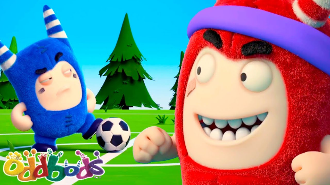 THE CHAMPIONSHIP CONTINUES | Oddbods | NEW | Funny Cartoons For Kids