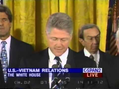 Image result for diplomatic relations were normalized  between the u.s. and vietnam