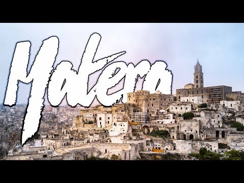 VISIT MATERA BEFORE ITS TOO LATE! | Italian Hidden Gem Destination