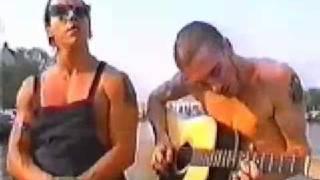 Red Hot Chili Peppers - live op de Amsterdamse grachten