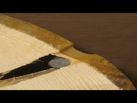 Заделка трещин в бревнах. Технология использования герметика для трещин в бревнах.