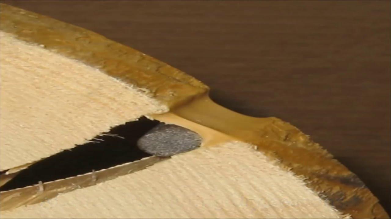 Герметик или конопатка деревянного дома, Часть 2 - YouTube