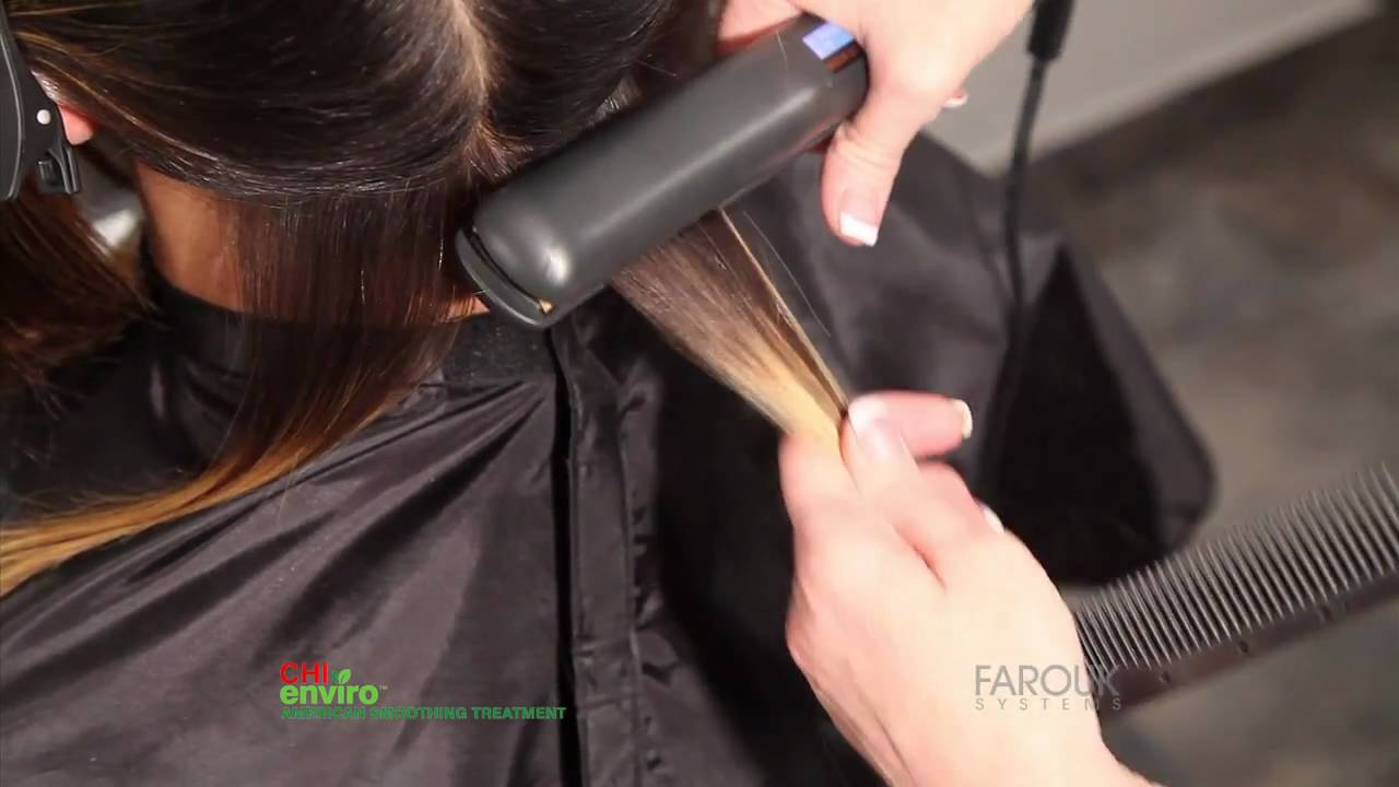 Chi Enviro Step By Step Highlightedporousfine Hair Youtube