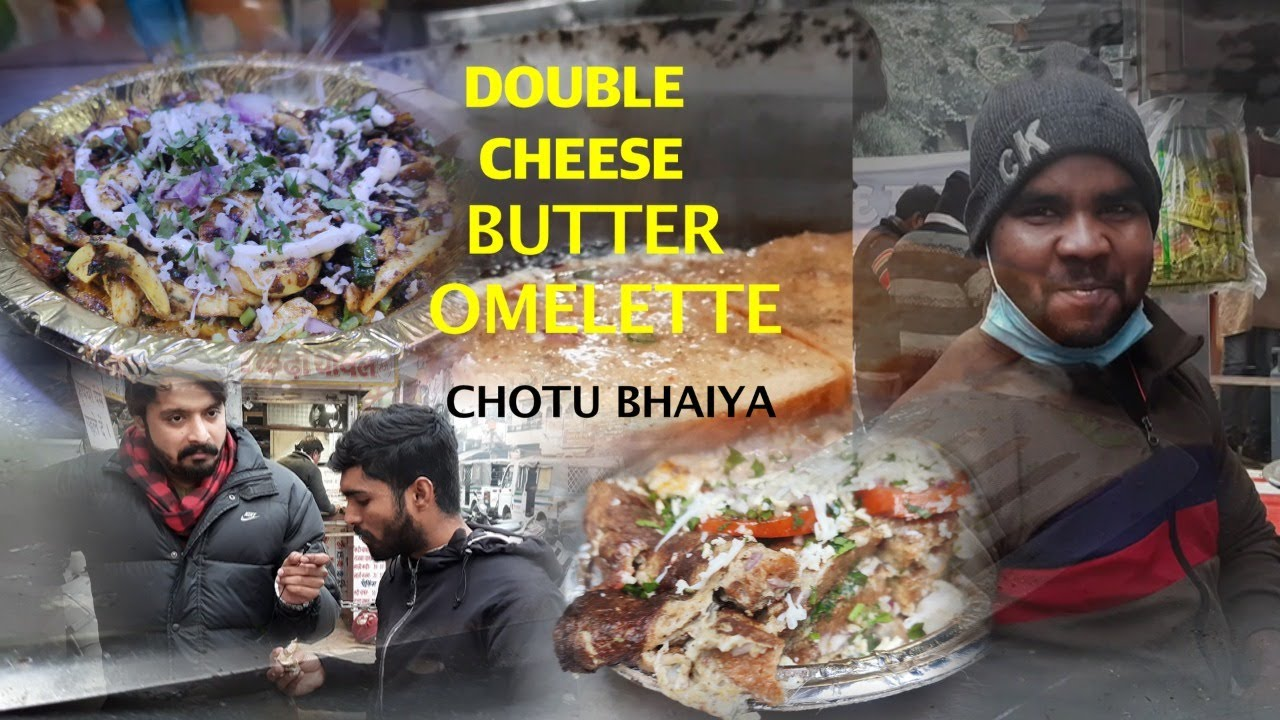 Download Special Cheese Omelette    Chotu Bhai Ande Wale    Thespicyfever Delhi Street Food