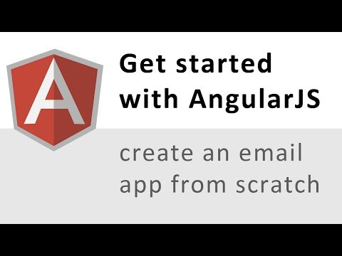 How to make an email web app using Angular