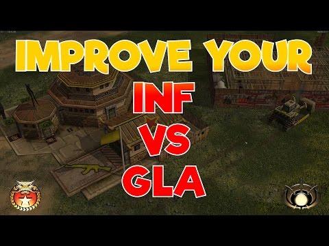 ZH - Tips for Infantry vs GLA on Summer Arena