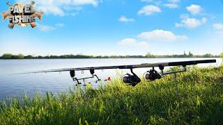 Рыбалка на ФЛЭТ метод ФИДЕР в ТРАВЕ Ловим КАРПА и АМУРА на flat method feeder Рыбалка с НОЧЁВКОЙ