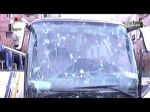 Dutzende Tote bei Anschlag in Damaskus