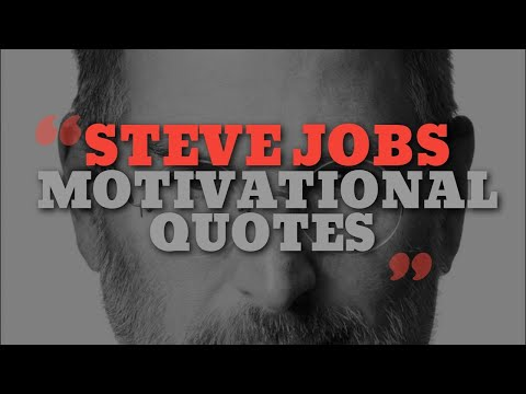 Top 10 Motivational Quotes of Steve Jobs - Motivational Video
