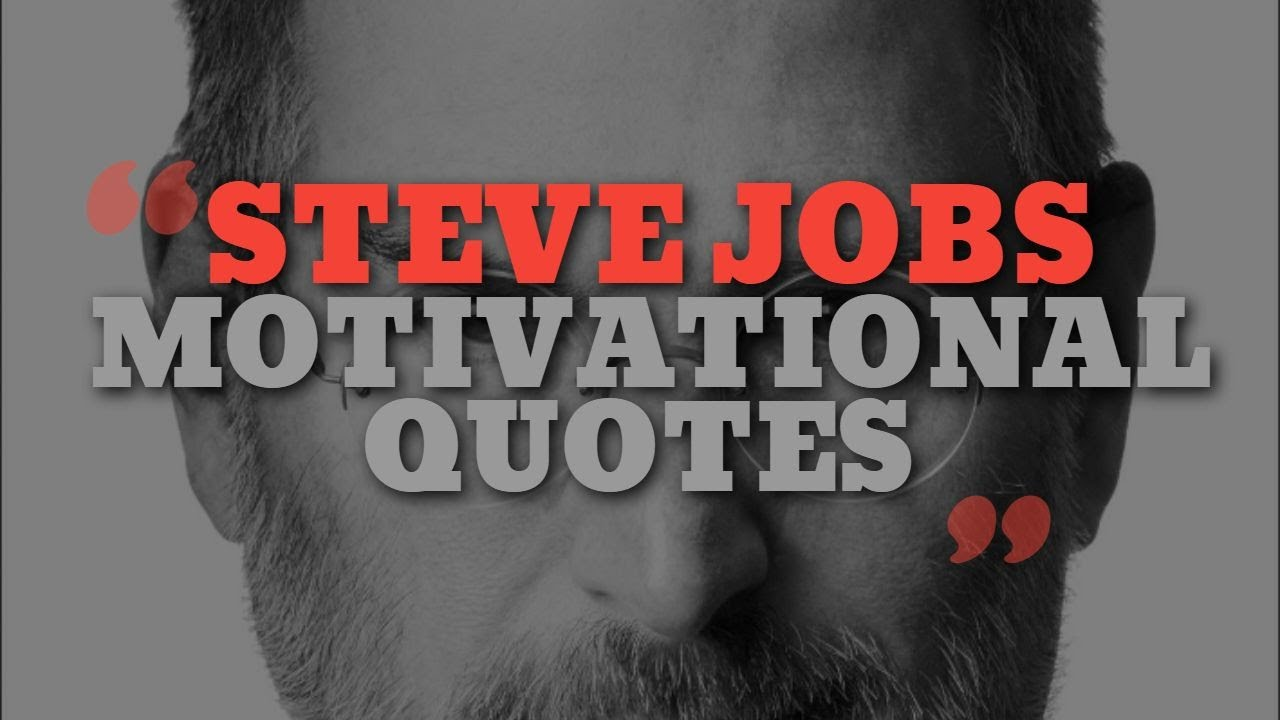Top 10 Motivational Quotes of Steve Jobs - Motivational ...
