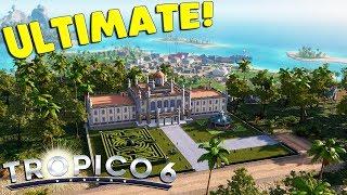 Tropico 6 - Ep. 01: ULTIMATE CITY & NATION BUILDER | Tropico 6 Sandbox Gameplay