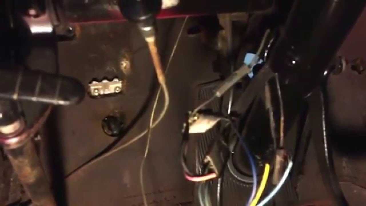 55 chevy bel air wiring option youtube 57 chevy nomad 56 chevy dash wiring [ 1280 x 720 Pixel ]