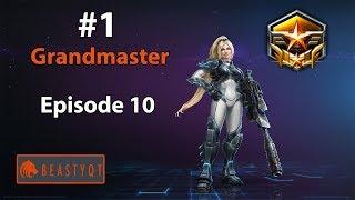 StarCraft 2: DOUBLE ROBO PROXY?! - RANK ONE Grandmaster! - Episode 10