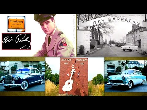 Elvis A Soldier In Germany: His Base, Cars, Town Platz & Memorial (Prt.4/4)