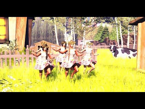 Русский народный танец, Танцевальная группа  НА КОЛЕСАХ