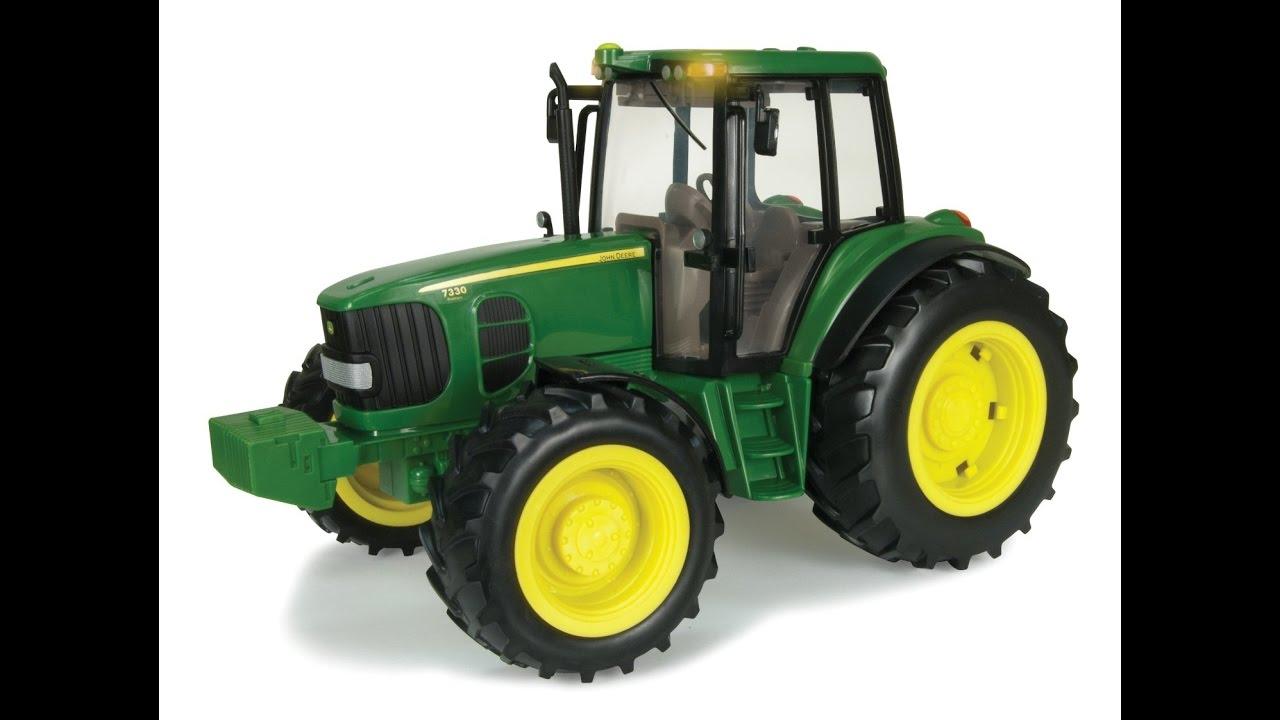 1 Tractor Juguete Deere Y 16 Ertl John Con Sonidos Luces Big Farm yNnPm8vO0w