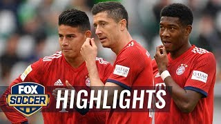VfL Wolfsburg vs. Bayern Munich | 2018-19 Bundesliga Highlights