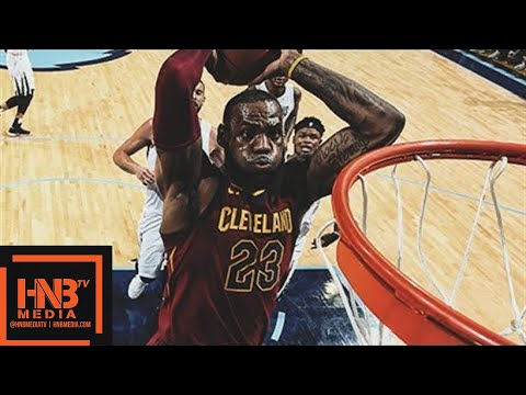 LeBron James 18 pts, 14 reb, 11 ast, 1 stl Highlights vs Grizzlies  Feb 23  201718 NBA Season
