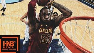 LeBron James (18 pts, 14 reb, 11 ast, 1 stl) Highlights vs Grizzlies / Feb 23 / 2017-18 NBA Season
