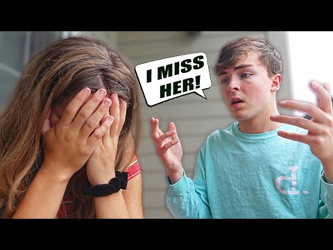 CALLING HER MY EX'S NAME PRANK To See Her Reaction (EMOTIONAL)