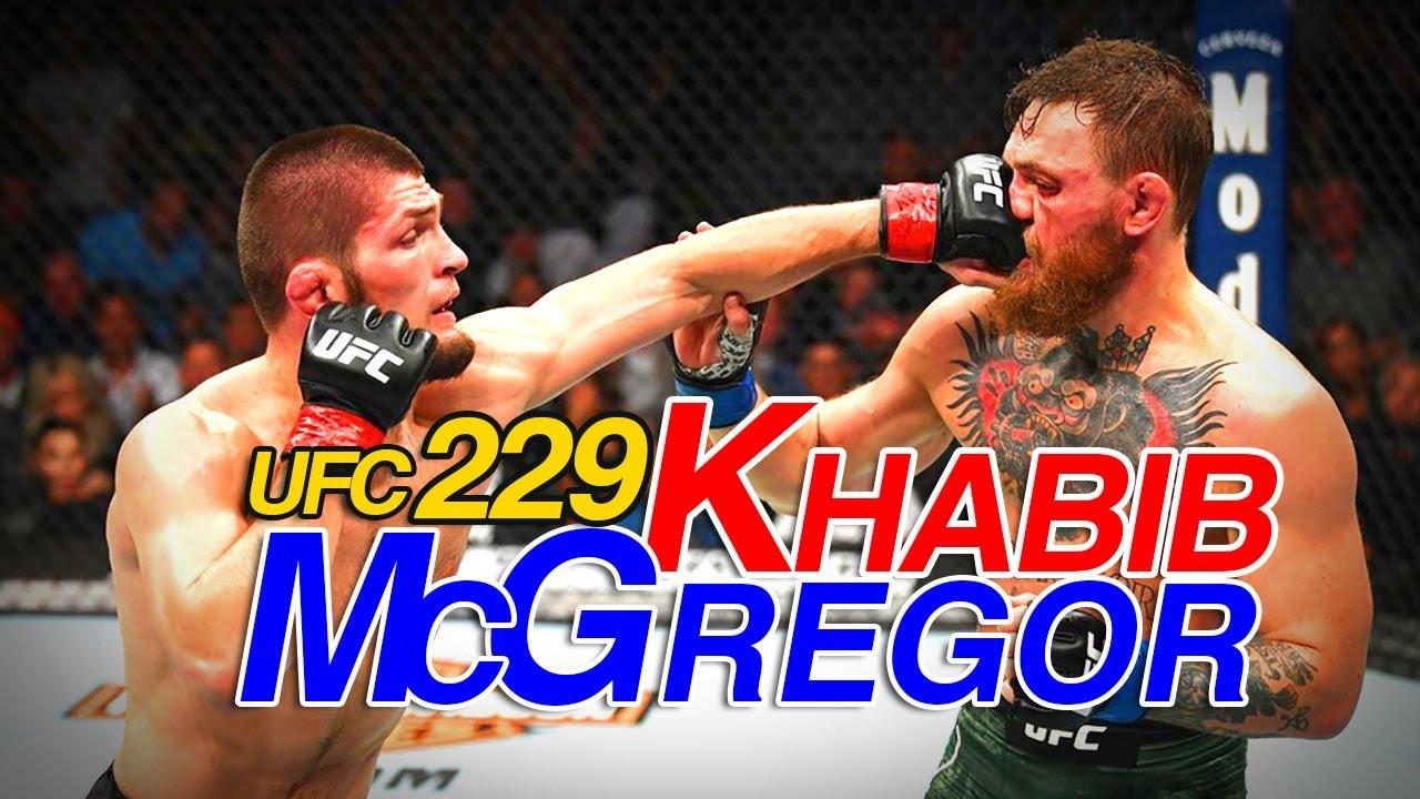 Mcgregor Vs Khabib Full Fight