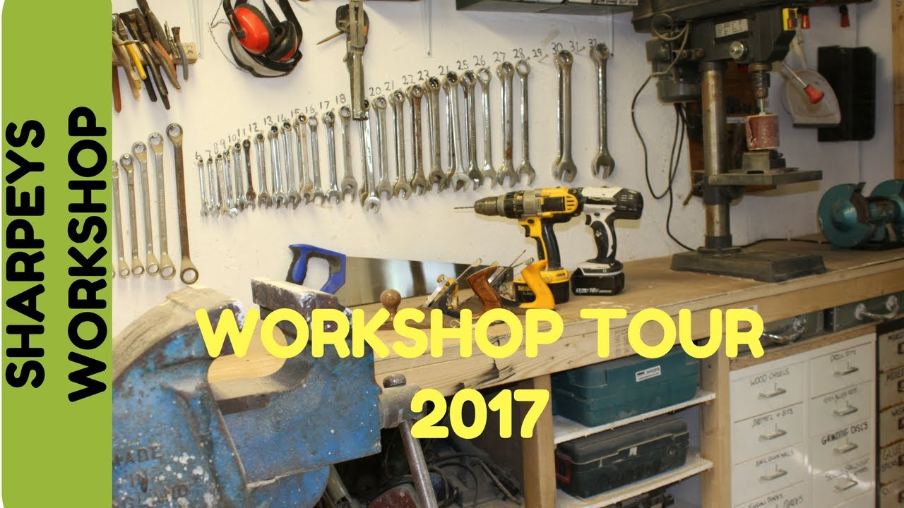 garage workshop tour 2017 youtube garage workshop tour 2017