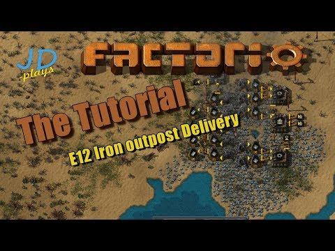 Factorio 0.16 The Tutorial E12 Iron outpost Delivery