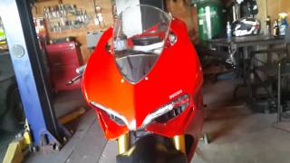Ducati 1199 Led Signals In Headlights Mod.