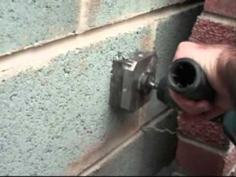 Moorcut Direct Ltd Quadcut Square Hole Cutter Fitting An