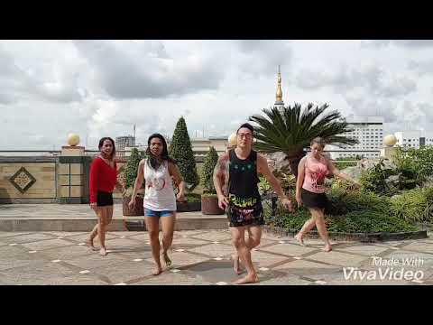 ME NIEGO BY Reik wisin ozuna //Zumba fitness choreo by deddy sagita