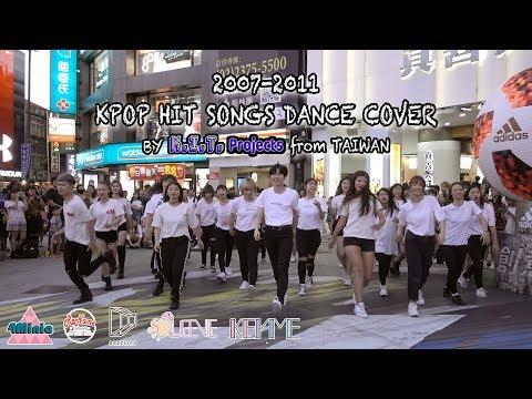 KPOP IN PUBLIC 20072011 KPOP HIT SONGS DANCE  from TAIWAN(五團聯合公演)