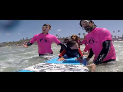 Surf Dog Ricochet's Waves of Empowerment Program